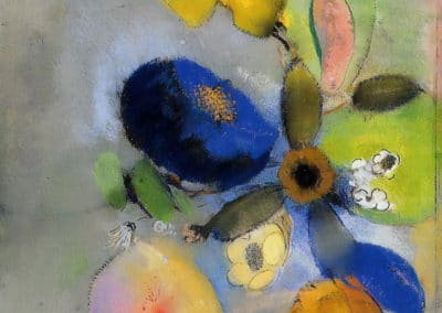 Fleurs - Odilon Redon (1908)