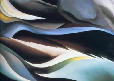 From the lake - Georgia O'Keeffe (1924)