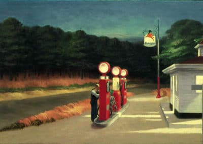 Gas station - Edward Hopper (1928)