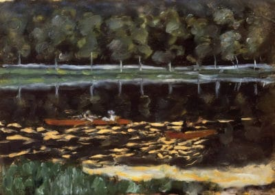 Going Rowing - Pierre Bonnard (1905)