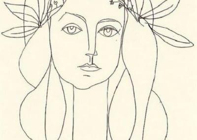 Head - Pablo Picasso (1948)