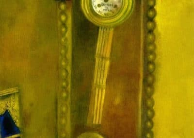 Horloge - Marc Chagall (1914)