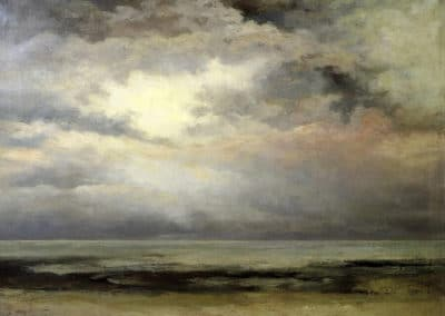 Immensité - Gustave Courbet (1869)
