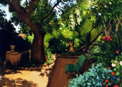 Le jardin - Albert Marquet (1896)