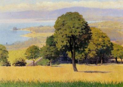 Les hauteurs de Lausanne - Felix Vallotton (1909)