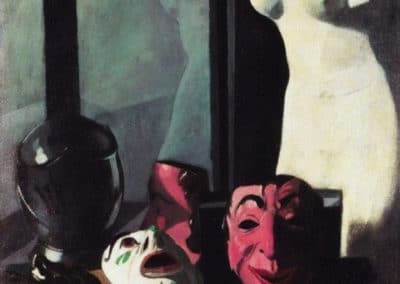 Masques - Felice Casorati (1921)