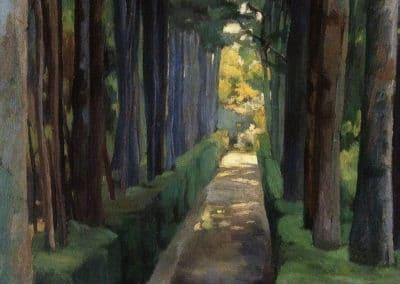 Melancholy promenade - Diego Rivera (1904)