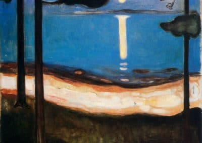 Moon Light - Edvard Munch (1895)