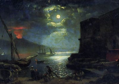 Moonlight over Napoli - Silvester Shchedrin (1828)