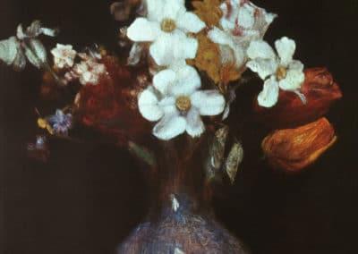 Narcisses et tulipes - Henri Fantin-Latour (1862)