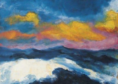 Ovädersmoln - Emil Nolde (1948)
