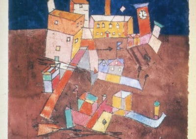 Part of G - Paul Klee (1932)