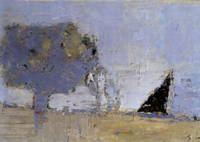 Paysage de Provence 2 - Nicolas de Staël (1953)