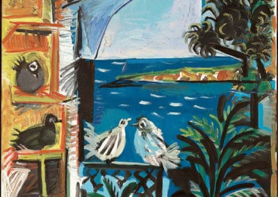 Pigeons - Pabloc Picasso (1957)