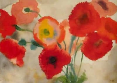 Red poppies - Emil Nolde (1908)