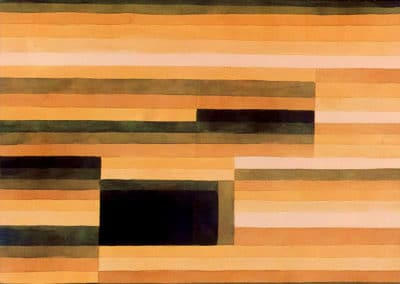 Rock chamber - Paul Klee (1933)