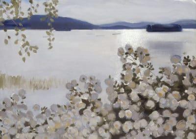 Roses blanches - Akseli Gallen-Kallela (1906)