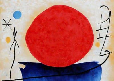 Soleil rouge - Joan Miro (1922)