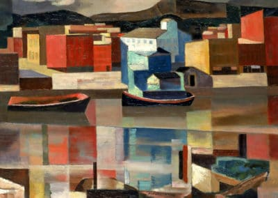 Sunday morning on the docks - Judson Smith (1945)