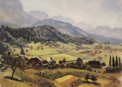 Alpes, Annecy - Zinaida Serebriakova (1933)
