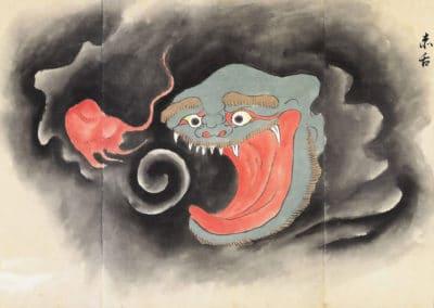 Bakemono Zukushi - le manuscrit des monstres 1800 (3)