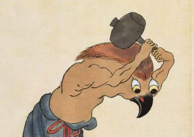 Bakemono Zukushi - le manuscrit des monstres 1800 (6)