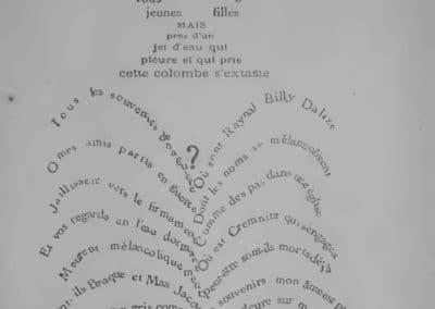 Calligrammes, poèmes de la paix et de la guerre - Guillaume Apollinaire 1918 (14)