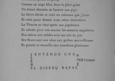 Calligrammes, poèmes de la paix et de la guerre - Guillaume Apollinaire 1918 (17)