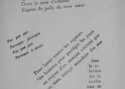Calligrammes, poèmes de la paix et de la guerre - Guillaume Apollinaire 1918 (21)