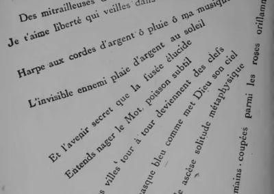 Calligrammes, poèmes de la paix et de la guerre - Guillaume Apollinaire 1918 (22)