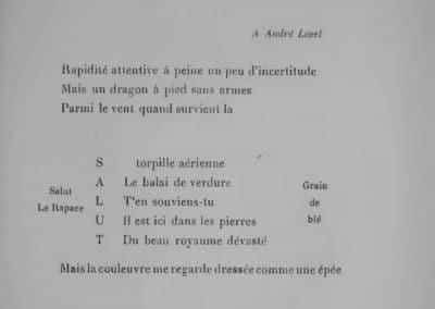 Calligrammes, poèmes de la paix et de la guerre - Guillaume Apollinaire 1918 (25)