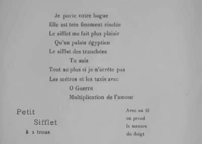 Calligrammes, poèmes de la paix et de la guerre - Guillaume Apollinaire 1918 (27)