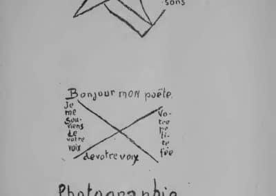 Calligrammes, poèmes de la paix et de la guerre - Guillaume Apollinaire 1918 (29)