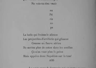 Calligrammes, poèmes de la paix et de la guerre - Guillaume Apollinaire 1918 (36)