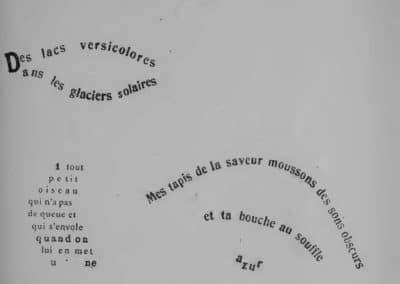 Calligrammes, poèmes de la paix et de la guerre - Guillaume Apollinaire 1918 (37)
