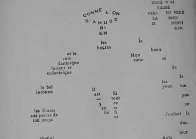 Calligrammes, poèmes de la paix et de la guerre - Guillaume Apollinaire 1918 (6)