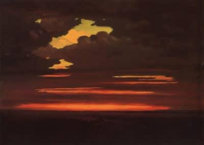 Clouds - Arkhip Ivanovich Kuindzhi (1900)