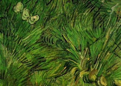 Deux papillons - Vincent van Gogh (1889)