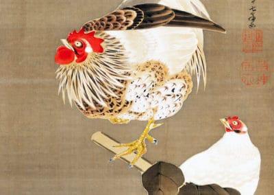 Estampes polychromes - Itō Jakuchū 1771 (4)