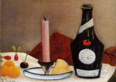 La bougie rose - Henri Rousseau (1909)