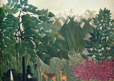 La cascade - Henri Rousseau (1910)