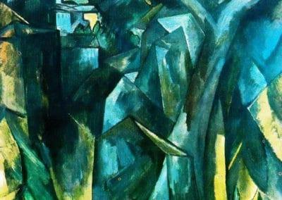 La ville dans les hauteurs - Georges Braque (1909)