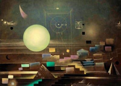Landscape - Antoni Tàpies (1950)