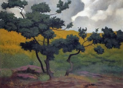 Landscape made in wood - Felix Vallotton (1902)