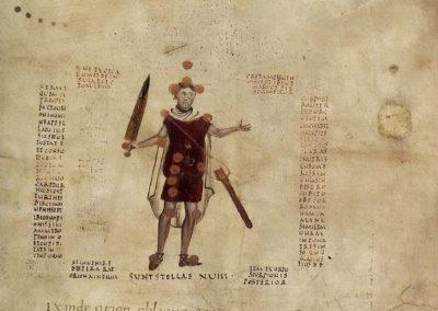 Les calligrammes du manuscrit d'Aratea 820 (12)