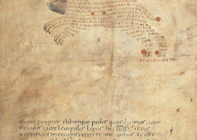 Les calligrammes du manuscrit d'Aratea 820 (15)