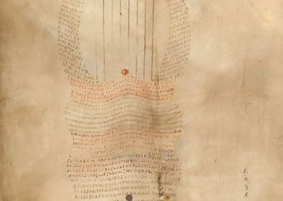 Les calligrammes du manuscrit d'Aratea 820 (2)