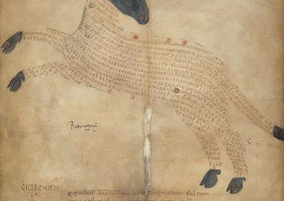 Les calligrammes du manuscrit d'Aratea 820 (3)