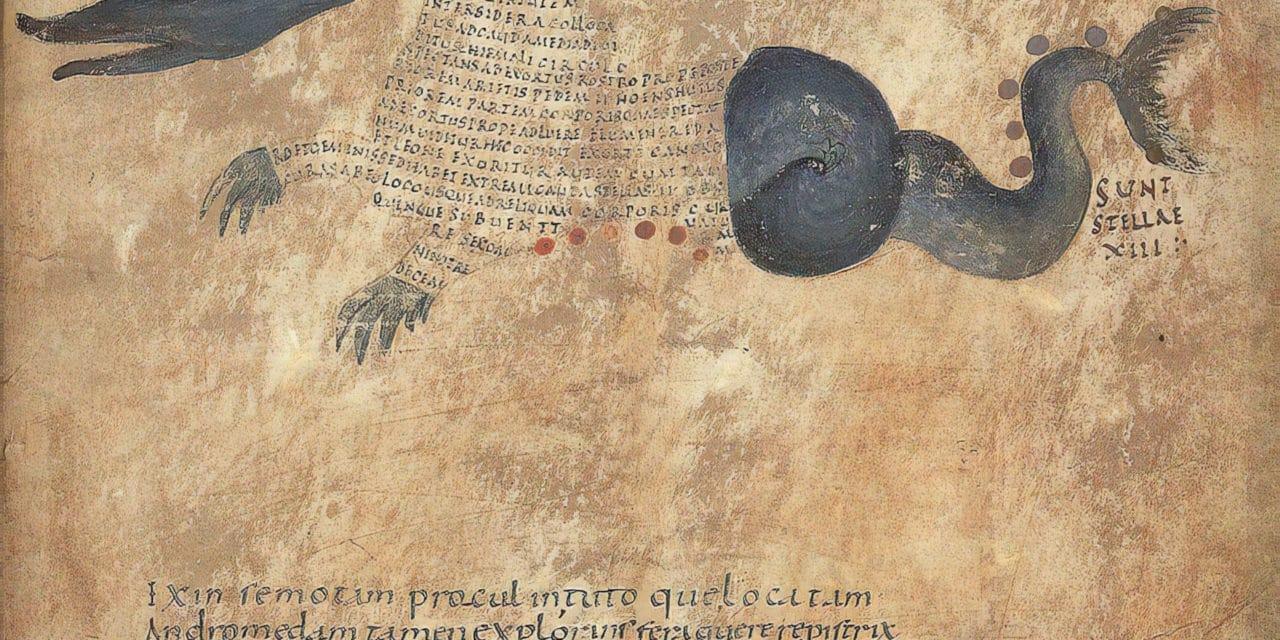 Les calligrammes du manuscrit d'Aratea