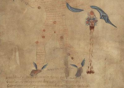 Les calligrammes du manuscrit d'Aratea 820 (7)